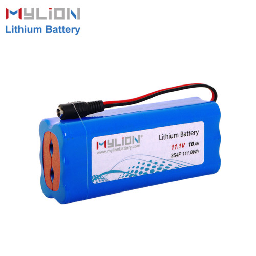 11.1V10Ah Lithium ion battery pack