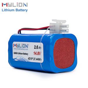 14.8V2600mAh Lithium ion battery pack