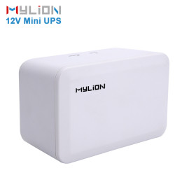 MU28W 12V Mini UPS for ADSL Router WiFi Router CCTV/Security Camera