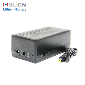Mylion 12V1A 44.4wh lithium ion backup battery mini ups for security alarm system