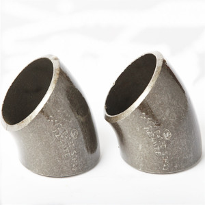 ANSI B 16.9 45 Degree Carbon Steel Elbows of JS FITTINGS used for Ship Biulding