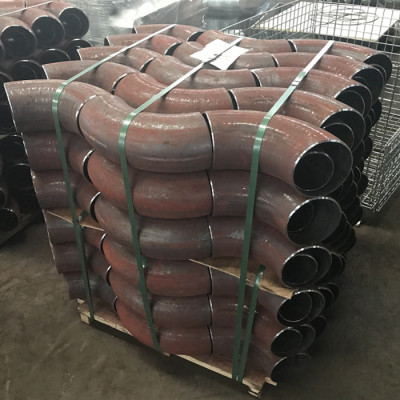 seamless 20 grade steel Elbows in boiler pipe system