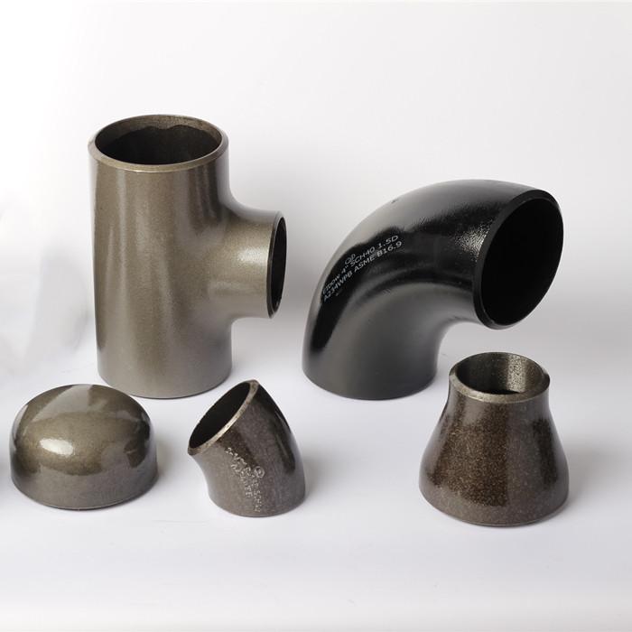 Seamless pipe fittings Characteristics