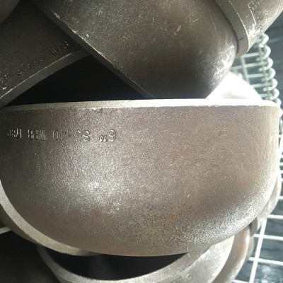 Cangzhou factory made carbon steel end caps EN, ASME, DIN for pipelines
