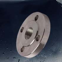 ASME B 16.5 lower and Medium pressure pipe flanges with NPT thread