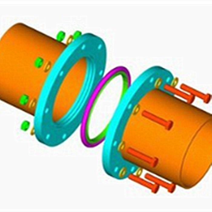 Flange connection types