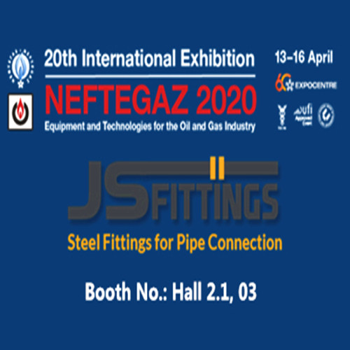 JS FITTINGS and NEFTEGAZ Moscow 2020 in Russia