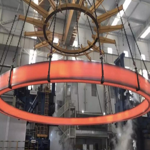The world's largest and the heaviest forging stainless steel ring