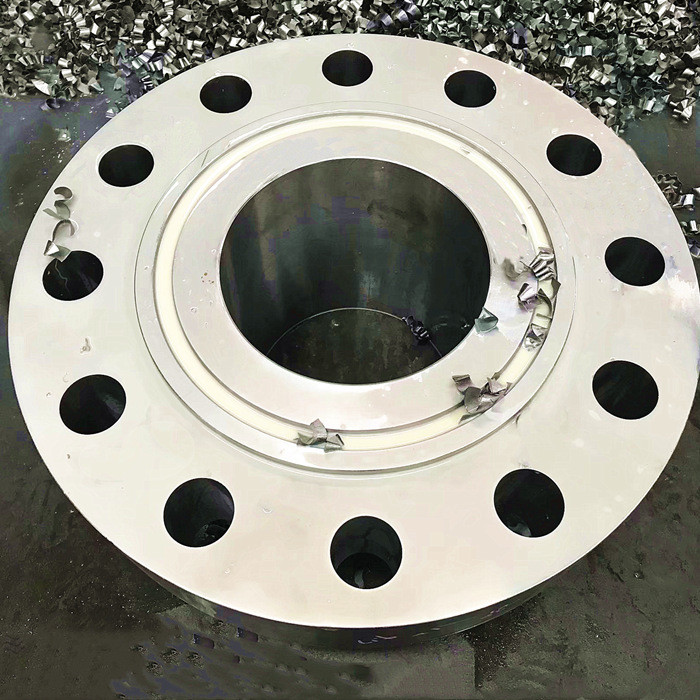 What is s steel flange (1)?