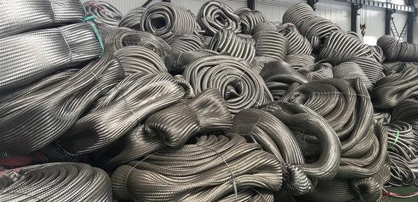 Flexible Metal Hose Pipe Steam Braided