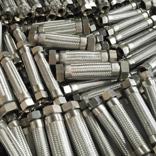 Flexible Metal Hose Pipe Steam Braided 25mm-3000mm