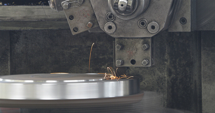 machining the plate flanges