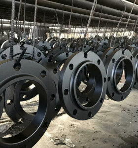 High Quality carbon steel forged ASME B16.9 Black Plate Flanges