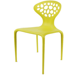 Modern design plastic indoor and outdoor chair use for dining room