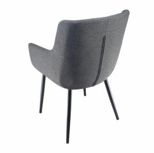 Armrest Dining fabric leisure chair