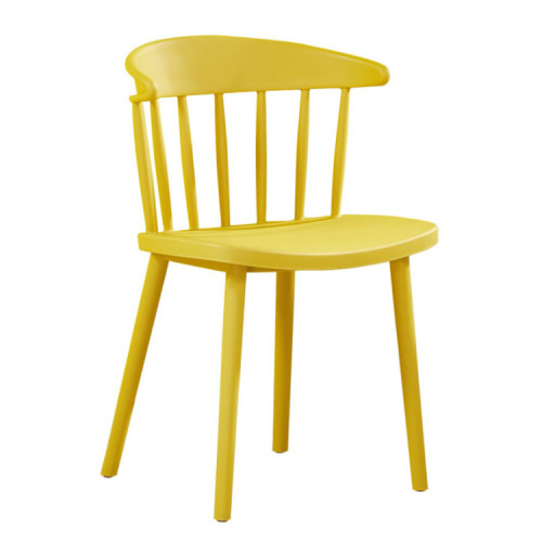 New Design Nordic Wind Back Plastic Living Room Chairs