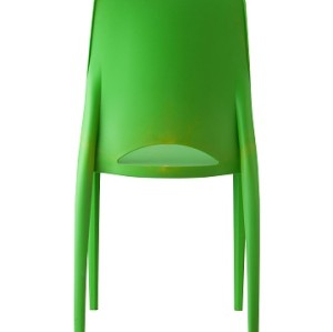 Modern color plastic leisure chair