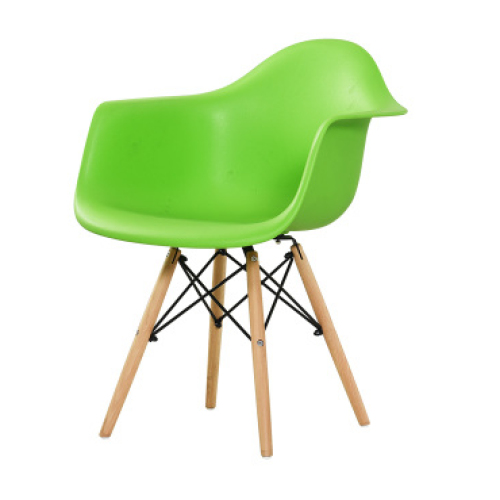 wood legs for lotus shaped plastic seats garden chairs
