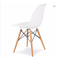 leisure chair modern simple design with wood legs