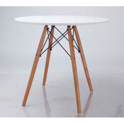 High quality simple table family dinner room plastic dinner table modern beech table