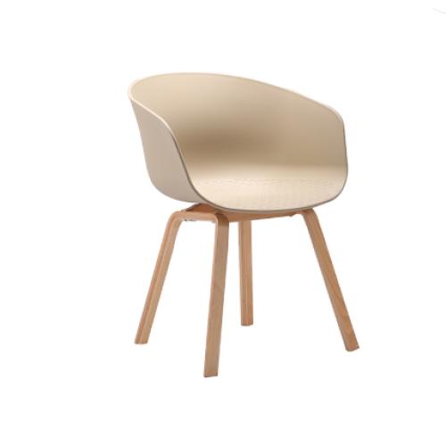 Modern Style Fashion Wooden Legs Outdoor Chair Garden Chair