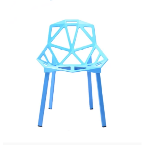 Modern Livingroom PP Chair Furniture Colorful Plastic Dining Chair