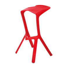Simple plastic leisure  bar chair