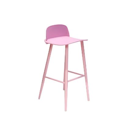Modern Plastic Bar Stool High Chairs High Quality Plastic Bar Stools