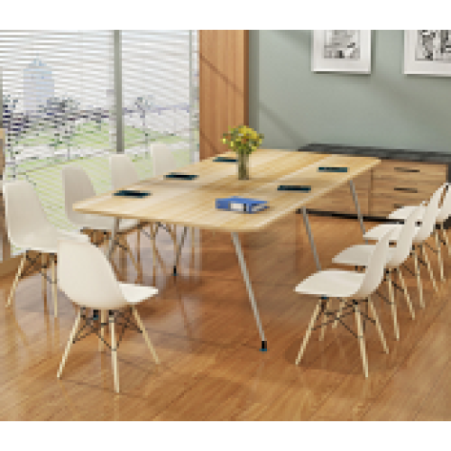 Modern Style Solid Wood Conference Table and Dining Table