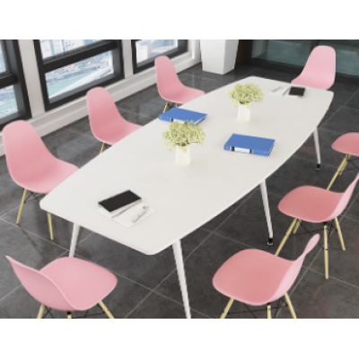 Conference Table Simple Modern Negotiation Reception Table and Chair Combination