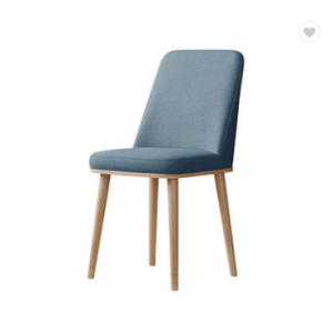 New Design Fabric Chair Living Room Chairs Wood Legs