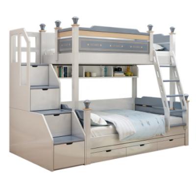 kids children modern solid bunk bed singe be