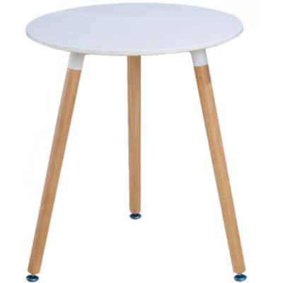 Leisure modern wood round table combination tea table