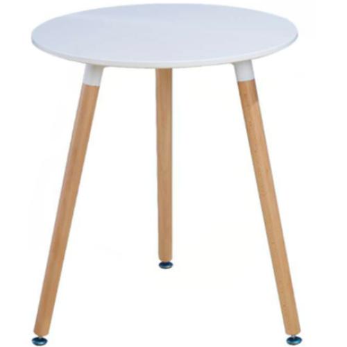 Leisure modern wood round table combination tea table