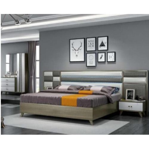 Modern luxury bed bedroom furniture and bedroom sets
