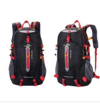 Functional  outdoor  folding waterproof hiking travel backpack bag