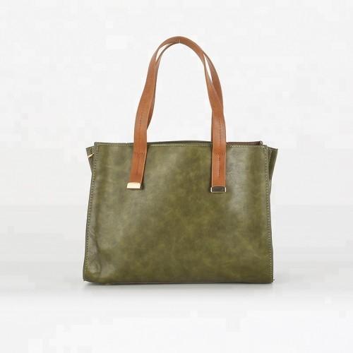 Custom Wholesale Women Pu Handbag Shoulder Bag