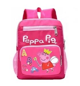 2019 New Smart Kids Schoolbags Pink Pigs Cartoon Kindergarten Bags Fashionable School Backpack Bag