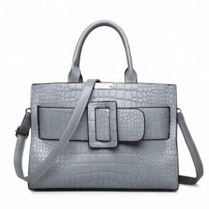 Custom Embossed PU Tote Bag Decorative Shoulder Handbag