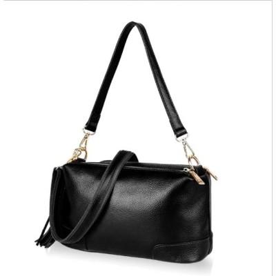 Replaceable Shoulder Straps Style Tassel Bucket Bag