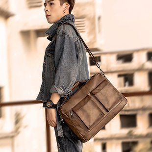 High Quality Leather Cross Body Bag for Man
