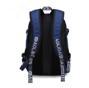 Student Bag Travel Outdoor Backpack Men's Oxford Cloth Waterproof Laptop Backpack