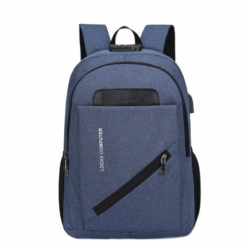 Unisex Laptop Backpack for School Travel, Anti Theft , with USB Charging Port and Headphone