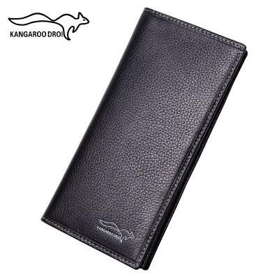 the 2019 New Custom Wallet, Men's Long Wallet, Leather Handbag