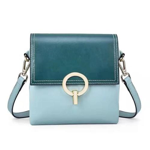 New Style Bag Ring Lock Small Ck Diagonal Span Single Shoulder Fashion Versatile Leather Bag