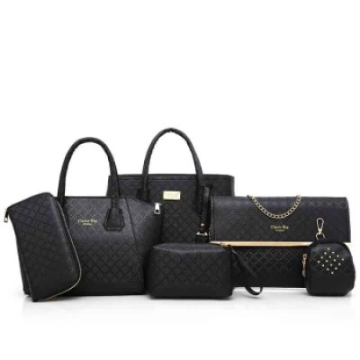 Exquisite 6 Piece Set Bag Handbags for Women Bags