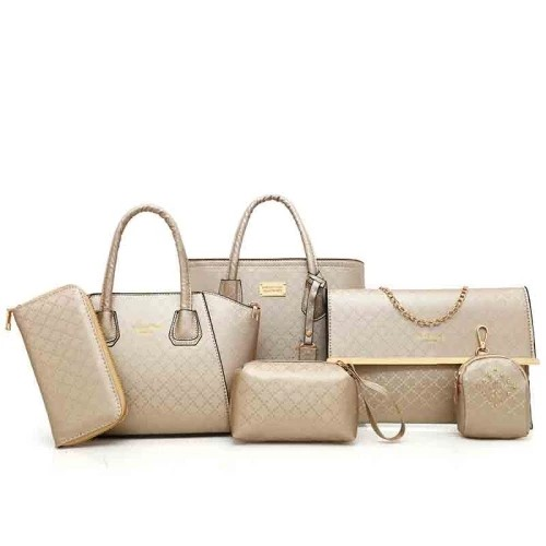 Exquisite 6 Piece Set Bag Handbags for Women Bags