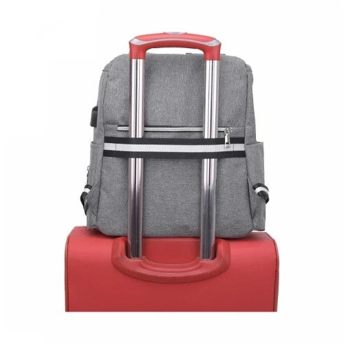 Fashion Backpack Large Capacity Waterproof Mommy Diaper Bag Set