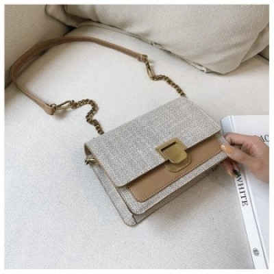 Wholesale Double Color Trendy Women Handbag Messenger Bag