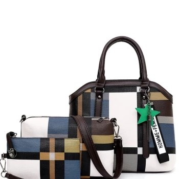 Zipper Style Single-shoulder Slung Shoulder Portable Boston Bag Fashion Backpack